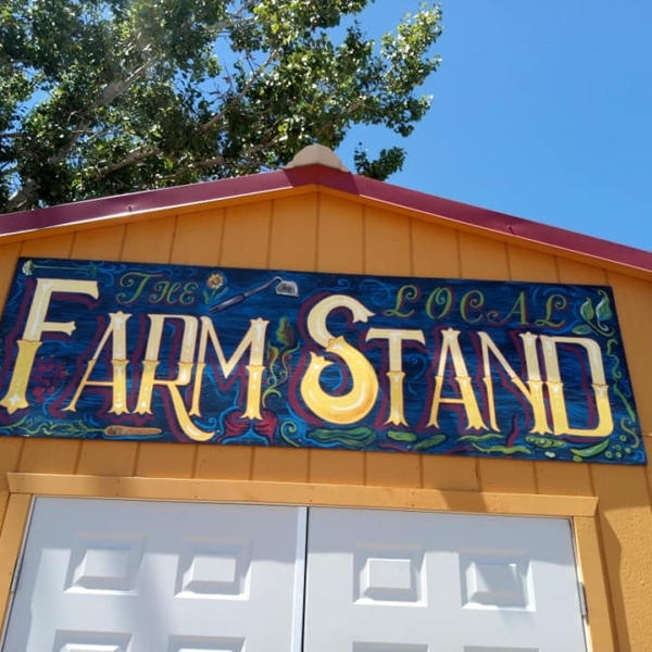 Farm stand at the RGFP