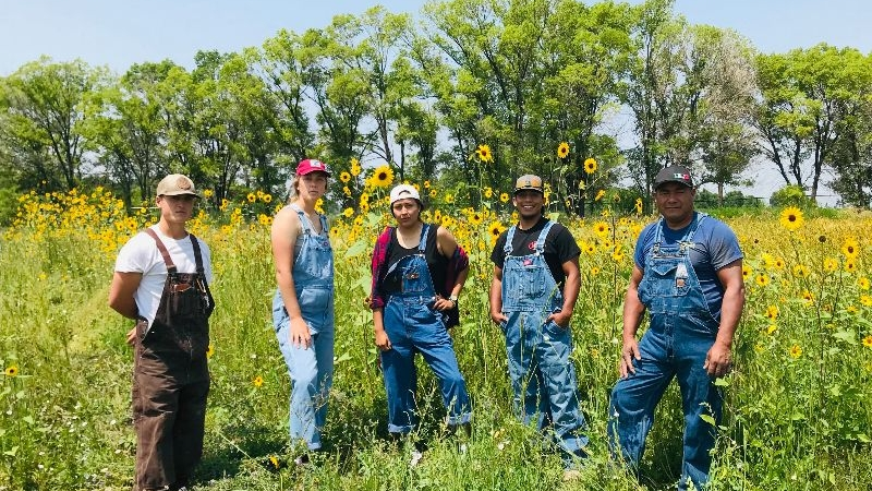 RGFP team in overalls